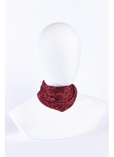 Akel Akel Pliseli Bandana Reds Kırmızı